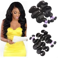 8A Indiano Body Wave Hair Extensions 3bundles 10-28 inch 100% Remy Human Hair Bundles Natural Color