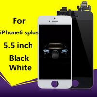 DHL Free Shipping Class A +++ LCD Touch Touch Digitizer Full Screen iPhone 6sPLUS Black / White Замените все 5,5 дюймов