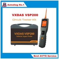 Wholesale Vehicle Diagnostic Kit - 2016 New Arrival VXDAS VSP200 Vehicle Super Probe Circuit Tester Kit with Case and Accessories Free Shipping