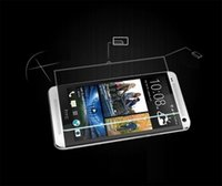 Wholesale M7 Screen Protectors - Premium Tempered Glass Screen Protector For HTC M7 8 9 10 Plus C10 E8 9 Plus EYE Toughened Protective Film With Retail Package