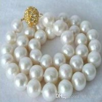 """Wholesale south sea huge pearl - FFREE SHIPPING** Huge 12mm South Sea White Shell pearl necklace 18"""" AAA+"""