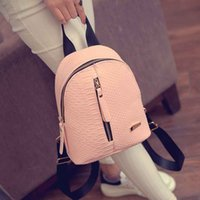 Wholesale wholesale back packs - Wholesale- Ulrica 2017 Cute Korean Small New Women Bag Packs Quality PU Leather Fashion Bags Mini Backpack women's backpacks Back Pack