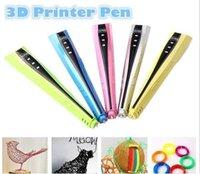 Wholesale Handcrafts Art - 3D Pen Printer Pen Drawing Pen Kids Toy DIY Arts Handcrafts Christmas Gifts