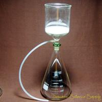 entonnoir de laboratoire achat en gros de-Vente en gros- 5000 ml, 24/40, kit de filtre d'aspiration sous vide en verre de laboratoire, flacon de 2 L d'entonnoir de Buchner