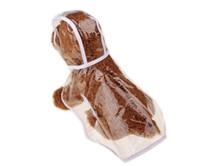 Wholesale Large White Dog Dress - Small dog raincoats rain coat snow coat pet clothes apparel cute dog clear dress pet raincoat wen4551