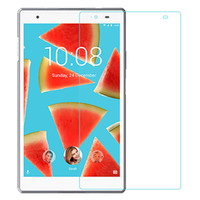 Wholesale z2 tablet resale online - 9H Tempered Glass Screen Protector For Sony Z2 Tablet Z3 Tablet Kindle fire7 hd7 fire8 HD8 fire lenovo Phab plus s8 tab