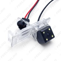 Wholesale Megane Cars - FEELDO Car Rear View Camera With LED Light For Renault Fluence Dacia Duster Megane 3 Nissan Terrano #2810