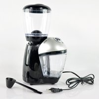 blade grinder espresso - 200W coffee grinder Makers Professional household electric grinder machine Beans Nuts Grinders Double blade level of grinding effect