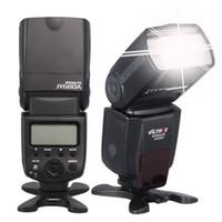 ingrosso telecamera flash yongnuo-Viltrox JY680A Flash flash on-flash GN33 Speedlite con schermo LCD e retroilluminazione per Canon, per Nikon, per fotocamere Pentax Sony