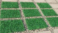 ingrosso fornitura di tappeti artificiali-100 pz Simulazione erba Crittografia artificiale stuoia di erba di plastica Artificiale erba prato turf Ripresa propsdecorations fornitura 60 CM * 40 Cm