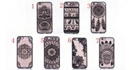 Custodie per telefoni cellulari di Bohemia Boutique Coperture del telefono cellulare del fiore Dreamcatcher Shell del telefono 6 7plus shell acrilico two-in-one 006