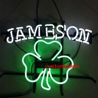 ingrosso segni irlandesi al neon della birra-17x14