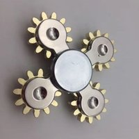 Wholesale Eva Long - Hands Spinners Five Gear Fidget Spinner Rotate Long Time Fingers Toys Anxiety Stress Relief Focus Spinning Top Sturdy 75jy2 B