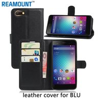 Wholesale Pink Dash Cover - New Colorful PU Wallet Leather Mobile Phone Case for BLU Dash X for BLU Energy X2 Protective Back Cover Case