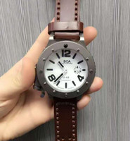 Wholesale White Dial Watch Titanium - 2017 watchesoffer2u suggest Luxury mans Watches Movement with white dial Fashion leather watchbands 3 colors Wrist Watches titanium