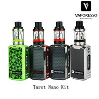 Wholesale Nano Board - Wholesale- 100% Authentic 80W Vaporesso Tarot Nano TC Kit 2500mAh with VECO EUC Tank 2ml Tarot MOD 80W OMNI Board w  EUC Coil Vaping Kit