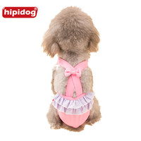 Wholesale Cat Underwear Cotton - Hipidog Pet Doggies Cats Physiological Solid Pants Cotton Pet Dog Panties Strap Sanitary Dog Underwear Diapers Puppy Shorts
