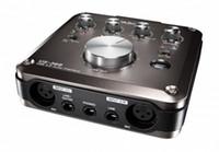 usb port board toptan satış-Tascam us-366 On-Board DSP Mikserli USB ses arabirimi 4'ü 4'ü aşkın ses kartı Yüksek kaliteli HDDA Mic Pre-AMPS optik portlu
