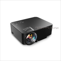 Wholesale 3d Projector Cheap - Wholesale- Cheap Android Projector Support Red Blue 3D Video Movies 1920x1080P TV HDMI LED Beamer Wifi Bluetooth for Home Cinema Theater