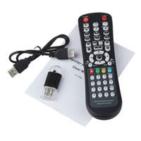 mejores controladores de pc al por mayor-Al por mayor-Mejor precio USB Wireless Media Desktop PC Control remoto para XP Vista 7
