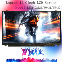 Wholesale 16 Led Laptop Lcd - NEW Laptop 14.0inch LED LTN140AT29-301 LCD Screen Display Panel