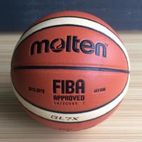 bolas ao ar livre indoor de basquete venda por atacado-Atacado Size7 Basketball Molten GL7X Homens Indoor Bola De Treinamento De Basquete Ao Ar Livre Para Jogo Jogo Frete Grátis