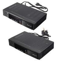 телевизионное вещание оптовых-Бесплатная доставка ЕС / Великобритания Full HD 1080P T2 + S2 видео вещания спутниковый ресивер Box TV HDTV