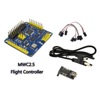 Wholesale Mwc Flight Controller - Wholesale- CRIUS MultiWii Standard Edition Flight Controller MWC SE v2.6 Supported 2-axis G with FTDI for confirgured