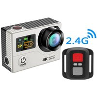 Wholesale Marine Wifi - Wholesale-Ultra HD Camera 4K 15FPS Mini Camcorders Action Sports Cam H3R Wifi 2.0 LTPS + 0.95 OLED Screen Recorder Marine 1080P HD DV DVR