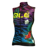 Wholesale Cycling Vest Bib - New Team ale Cycling jersey 2017 Summer Breathable MTB bike sleeveless vest bib shorts set bicycle Clothing Ropa Ciclismo G2701