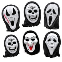 Wholesale Stage Masks - scary masks for Halloween party gifts stage prop wholesale mop masks mixed models free shipping Halloween gifts