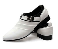 Wholesale Sexy Bridegroom - Cool sexy charming Groom men's wedding leather shoes Prom shoes for bridegroom shoes