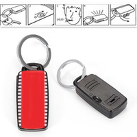 Wholesale Remote Key Chain Finder - Wholesale- High Quality 1PCS Car Key Finder Locator Lost Keys Chain Remote Control Keyring Whistle Sound Seeker Car Keychain NEW