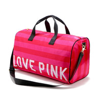 LOVE PINK Sacs à main Women Secret VS Shoulder Bag Mode Sports Voyage Sacs à dos Sac à rayures Sac imperméable à la plage Sac à dos Outdoor Free DHL 81