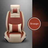 Wholesale K3 Cerato - car seats cover set for Kia Rio Cerato Sorento Forte K2 K3 K5 seat cover custom pu leather decorative car seat cushions