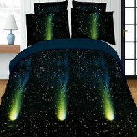 Wholesale Hotel Galaxy - 3D Comforter Sets Galaxy Fantasy Universe Personality Fashion Creative 3D Bedding Sets Four-Piece Printing Bedding Sets