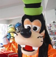 Wholesale Cartoon Xxl - Goofy Dog Mascot Costume Christmas Party Fancy Dress Cartoon Character Costumes Complete Outfits factory direct sale