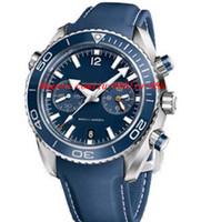 45mm männer beobachten großhandel-Luxusuhren Lederarmband 232.92.46.51.03.001 GESCHENK FÜR IHN NEUE PLANET UHR 45mm MANUHR Armbanduhr