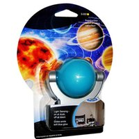 Wholesale Solar System Control - Creative Star Projection Light Control Colorful Led Night Light 360 degree Rotating Projector LED Plug-In Night Light (Solar System) Lamp