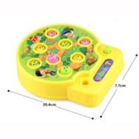 Wholesale Hamster Music - Baby Whac-A-Mole Mole Hamster Attack Poke A Mole Electronic Music Plastic Kids Game Toy Children intelligence WJ399