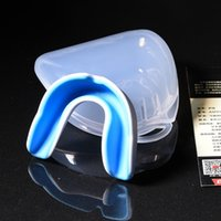 Wholesale Dental Chews - Sports Teeth dental braces boxing dental braces basketball dental appliance silicone boxing protective gear can be chewed