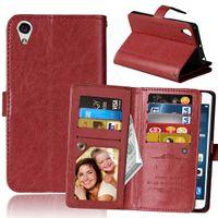Wholesale xperia z5 for sale - Group buy 9 Card Slot Money Photo frame Stand Wallet Case for Sony Xperia X X Performance XA XZ X COMPACT Z3 Z4 Z5 E5 M5