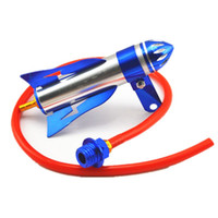 Wholesale radiator hoses online - Universal mm Motorcycle oil cooler Stainless Steel Cooling Accessory imitation stainless steel oil radiator Blue