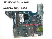 Wholesale Dv4 Motherboard - Superior Quality Motherboard For HP DV4 Motherboard JAL50 LA-4105P DDR3 100% Fully Tested