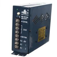 fuente de alimentación 4a al por mayor-Fuente de alimentación de conmutación ajustable 12V 4A / 5V 16A para máquina de juegos Arcade AC 110V 220V (MD-9916A)