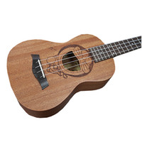 Atacado- 23 polegadas Hawaiian Ukulele 4 cordas Mini Guitarra 6 Tipos de Cartoon Patterns Kids Gift Sapele Ukelele