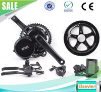 Wholesale Electric Bike Kit 48v - 2017 New Bafang BBS02B 48V 750W Ebike Motor with C965 LCD 8fun bafang mid drive Electric Bike conversion kits