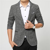 Wholesale black flying v - Suits men high quality Mens casual Suits Blazers leisure Jacket fashion Blazer Coat Button suit Business men Formal suit jacket