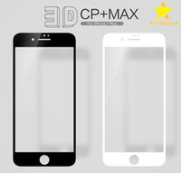 Wholesale Colorful Screen Protector 3d - 3D Full Cover Colorful Tempered Glass Screen Protector for iPhone 7 Plus iPhone 6 Plus with Retail Package