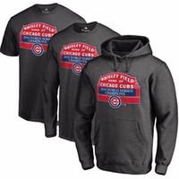 Wholesale Loose Turtleneck Hoodie - Wholesale-Chicago Cubs 2016 World Series Men Hoodie Sweatshirt Tops Size M - 2XL